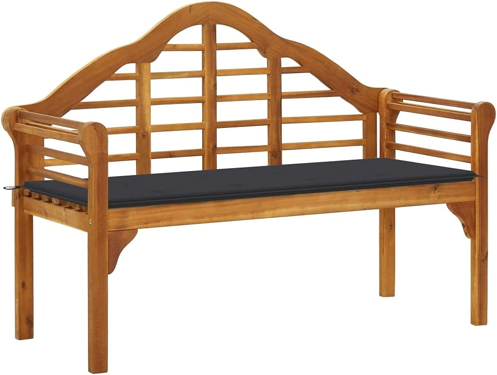 Furniking Garden Queen Bench with Cushion Large special price !! Solid 53.1