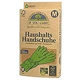 If you care FSC Haushalts Gummi Handschuhe Fair Rubber Größe M, 2er Pack (2 x 2 Stück)