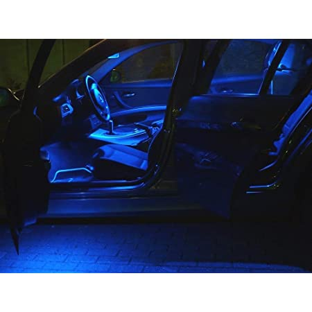 15x Innenraumbeleuchtung Set Lampen Blau Auto Beleuchtung Leuchtmittel Auto