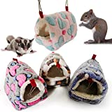 AzsfUfsa53 Small Pets Supplies Hamster Squirrel Warm House Guinea Pig Nest Small Animal Pet Bed Sleeping Bag -...