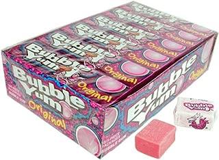 Bubble Yum Bubble Gum, Original - 18 - 5 piece packages [90 pieces]