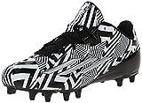 adidas Performance Men's Filthyspeed Low Football Cleat, Black/Platinum, 10.5 M US