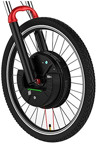 Electric Bikes Conversion Kit EBIKE Conversion Kit Imortor Electric Bike Conversion Kit 3.0 with Battery Wireless or Only one Cable all in one 40km/h and 40km 2020 (Color : V wire control, Size : 27.5