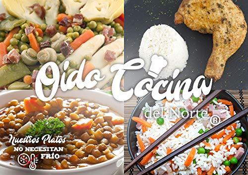 Oído Cocina del Norte Pack deportista 10 platos
