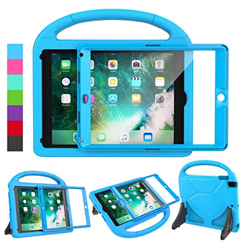 LEDNICEKER Kids Case for iPad 9.7 2018/2017 - Built-in Screen Protector...