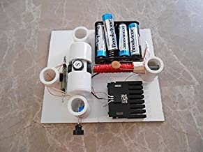Simple Electric Reed Switch Motor Kit with Transistor - DIY Science Projects & Kids Education