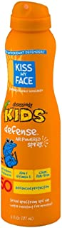 Kiss My Face Kids Defense Continuous Spray Sunscreen SPF 50 6 oz (Pack of 2)