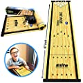 Elite Sportz Bowling Game - Indoor Table Games for Whole Family, Kids and Adults - Portable Set w/ Lane, 6 Pins, 2 Bowl Bearings - Play at Home Or Traveling from Elite Sportz Equipment