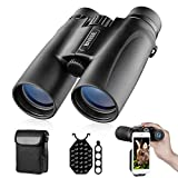 Binoculars for Adults 10X42 Roof Prism Low Light Vision Lightweight Compact Binocular