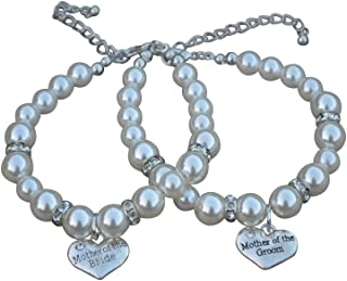mother of groom bracelet
