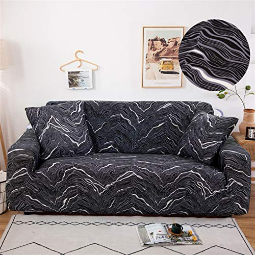 kengbi Easy To Install And Comfortable Sofa Cover Sofa Cover,Stretch Sofa Cover Slipcovers Elastic All-inclusive Couch Case For Different Shape Sofa Case Dust Protection Cover