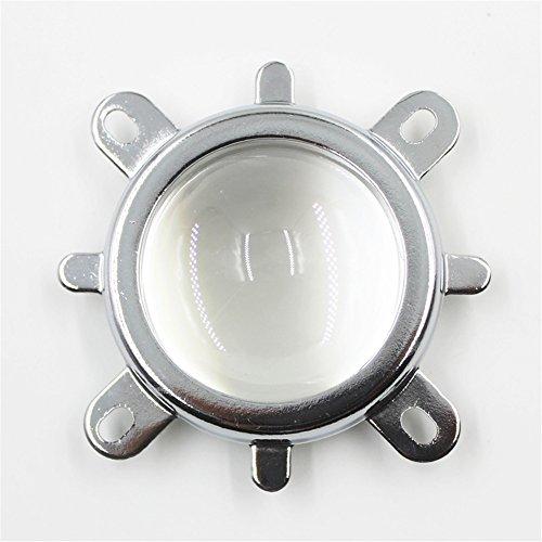 Kits de lentille de 44 mm lentilles optiques 44 mm + 50 mm la réflexion de football + Support fixe pour 20 W- 100 W LED Light Perles