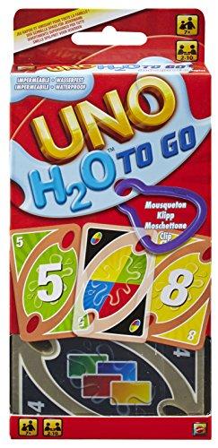 Mattel Games UNO H20 To Go, Kartenspiel (Mattel P1703)
