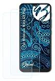 Bruni Schutzfolie kompatibel mit Motorola Moto G9 Play Folie, glasklare Bildschirmschutzfolie (2X)
