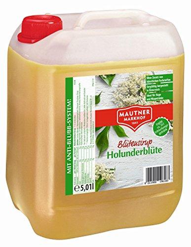 Mautner Markhof Holunderblüten Sirup 5l