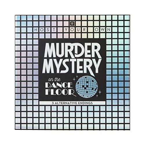Wiederverwendbare Mord Geheimnis auf der Dancefloor Kit   Disco 1970s Themen Dinner Party   3 Alternative Endungen   Ausgefallene Kleid   Für Erwachsene, Nach dem Abendessen, Weihnachten, Geschenk