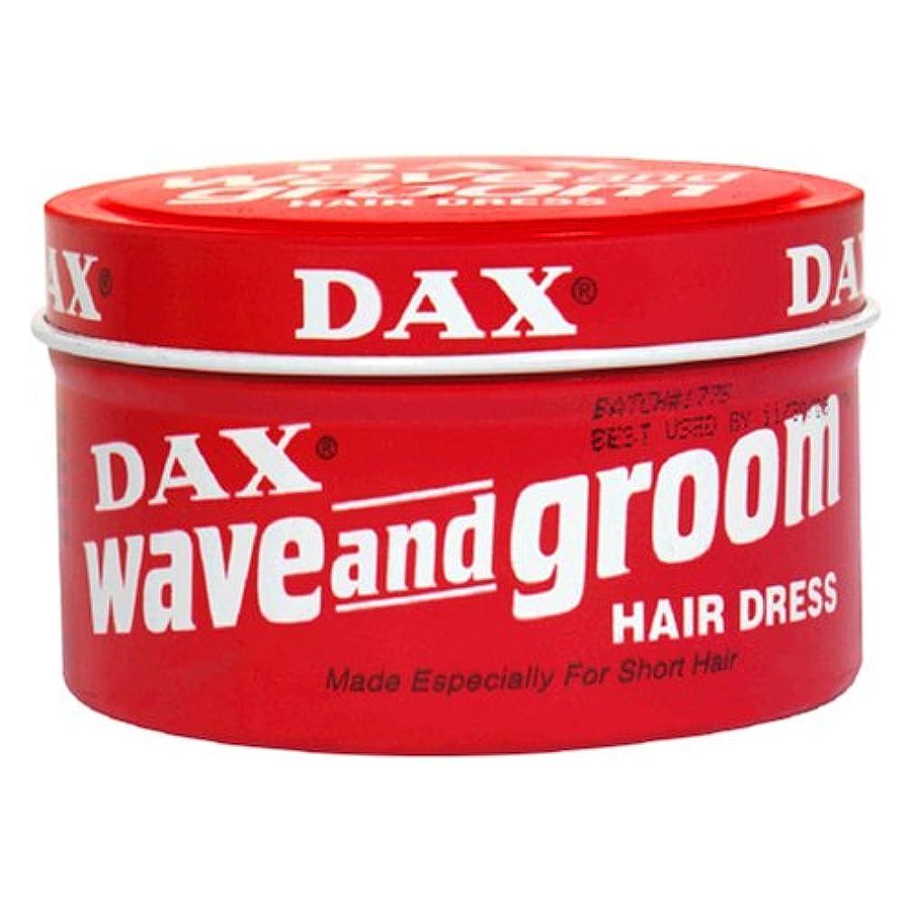 爆発するおなじみの有名人Dax Wave & Groom Hair Dress 99 gm Jar (Case of 6) (並行輸入品)