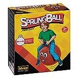 Idena 40093–Saut Ballon Happy Face, 45–50cm, Rouge