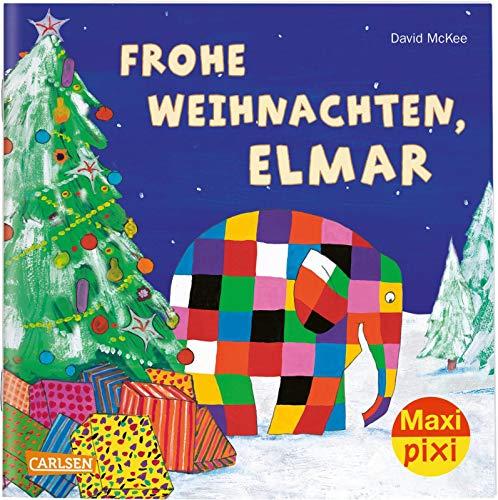 Maxi Pixi 299: VE 5 Frohe Weihnachten, Elmar! (5 Exemplare) (299)