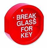 Firechief KB2 Caja de llaves de cristal de rotura lateral plana