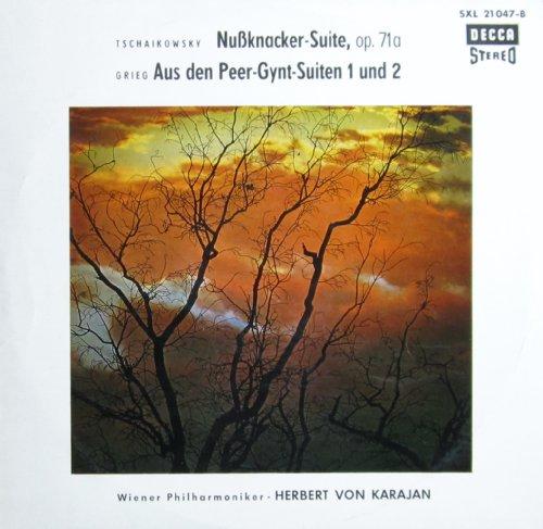 Tschaikowsky: Nussknacker-Suite, op. 71a / Grieg: Aus den Peer-Gynt-Suiten 1 und 2 [Vinyl LP] [Schallplatte]