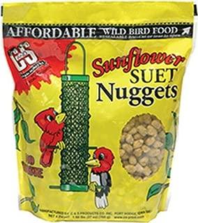 C & S CS06110 Sunflower Suet Nuggets, 27-Ounce