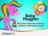 arc pour bébé avec éveil aux  couleurs, mouvement et jeux