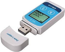 MagiDeal Registrador de Datos de Temperatura Alta Precisión