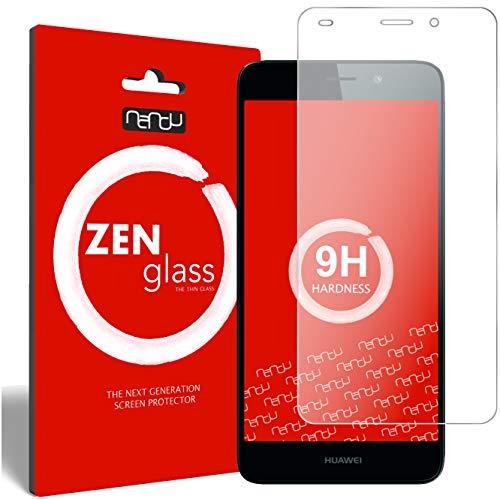 ZenGlass Flexible Glas-Folie kompatibel mit Huawei Honor 5C Panzerfolie I Bildschirm-Schutzfolie 9H I (Kleiner Als Das Gewölbte Bildschirm)