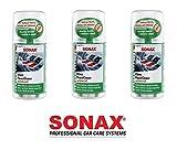 SET 3 x 100 ml SONAX KLIMAANLAGEN REINIGER DESINFIZIERER Klimaanlagen Desinfektion KlimaPowerCleaner antibakteriell mit frischem GREEN LEMON Duft