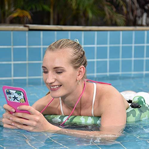 SUNWIND Schwimmen Ring, Kinder und Erwachsene Schwimmer Schwimmen Ring Outdoor Car Nackenkissen Taille Kissen Multifunktionale Schwimm Ring PVC 45 * 32cm - 2 Stück,Grün