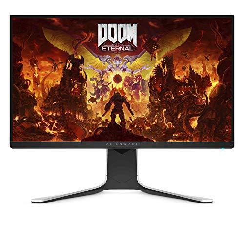 Dell Alienware AW2720HF 68.5 cm Full HD LCD 1920 x 1080 240 Hz Gaming Monitor 1ms GtG Reaktionszeit AMD Free-Sync Lunar Light