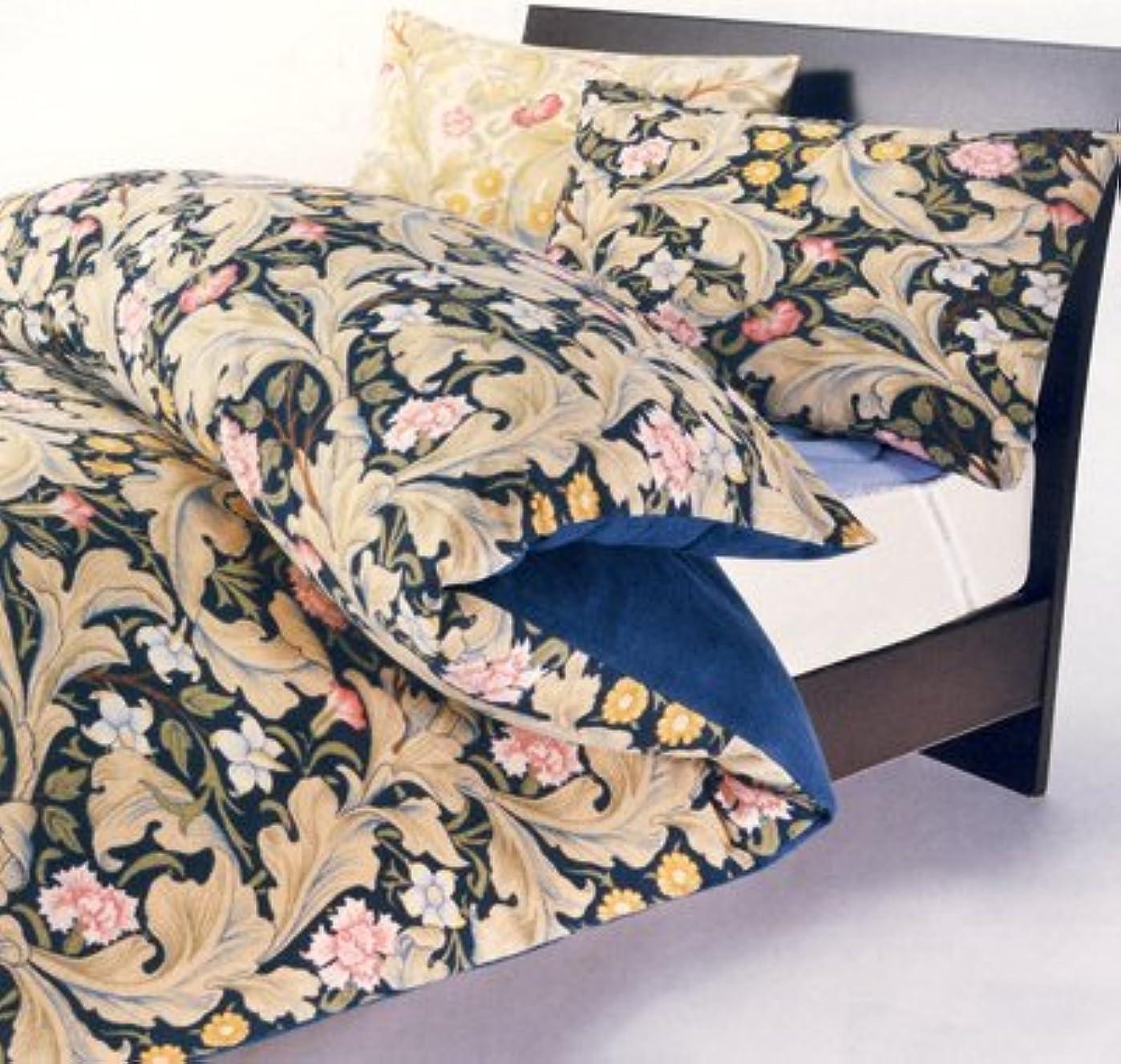 議題エアコン赤面Sanderson 日本製 ピロケース 枕カバー 軽量シャーリングパイル 65×45cm SD1500N ネイビー