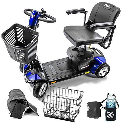 Pride Mobility Go-Go Sport S74 4-wheel Electric Travel Scooter for Adults