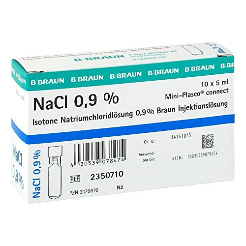 Kochsalzlösung NaCl 0,9% Mini-Plasco connect,50ml