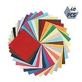 dgaf&bae Filzstoff, Bastelfilz 40 Farben DIY Handwerk