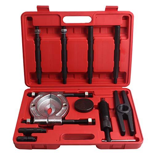 CCLIFE 10T Hydraulischer Lagerabzieher Abzieher Lager Trenmesser 10tlg | 100-150mm