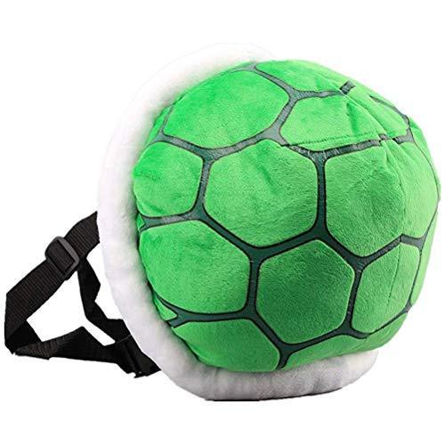Faviye Turtle Shell Backpack Mochila de Felpa para niños de Dibujos Animados para niños Disfraz