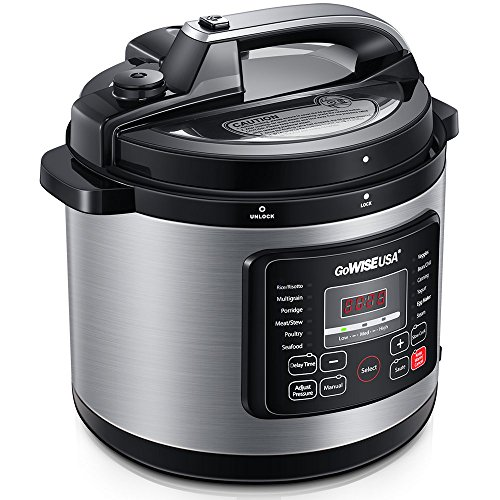 GoWISE 12-in-1 Electric Pressure Cooker