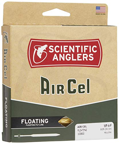 Scientific Anglers Air Cel Floating Lines, Yellow, WF- 6-F