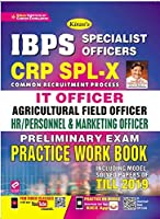 Kiran IBPS Specialist Officers CRP SPL-IX IT Officer, Agricultural Field Officer, HR/Personnel & Marketing Officer Preliminary Exam Practice Work Book (3098)