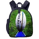 Sac à Dos Enfant Garderie Maternelle Sac Creche Sac Animaux École Mignon pour Bébé Fille Garçon Ballon de Rugby sur Coup de Pied