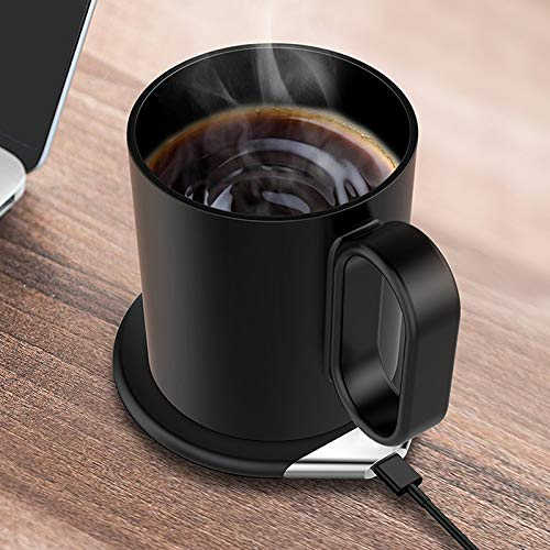 Luckylj Tassenwärmer, Kaffeewärmer, Für Den Heimgebrauch Getränkewärmer Teller,Natural