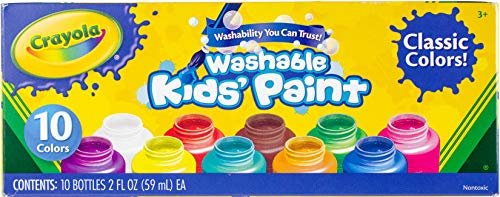 pots de peinture lavable