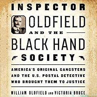 Inspector Oldfield and the Black Hand Society audiobook cover art
