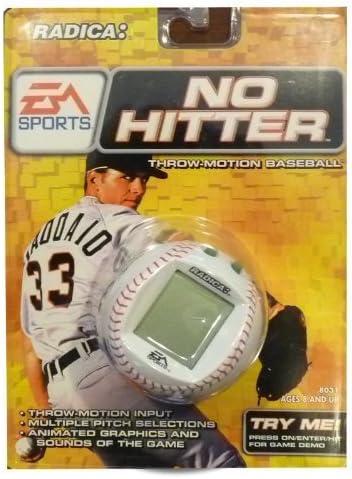 Radica No Hitter Throw Motion Baseball EA Sports Electronic Handheld Game LCD product image