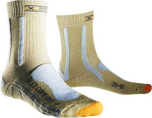X-SOCKS Trekking Light Comfort et Respirantes Lady Light Brown Almond, 37/38, x020290