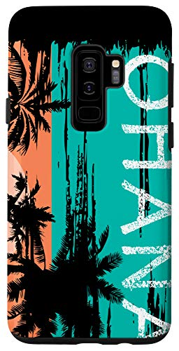 Galaxy S9+ Ohana Aloha Hawaii Summer Island Surfer Case