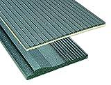 Schellenberg 66251 Pack de 2 aislamientos para cajón de persiana (100 x 50 cm, grosor del material 25 mm)