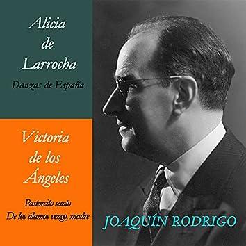 Alicia de Larrocha & Victoria de los Ángeles Con Joaquín Rodrigo. Grabación Histórica